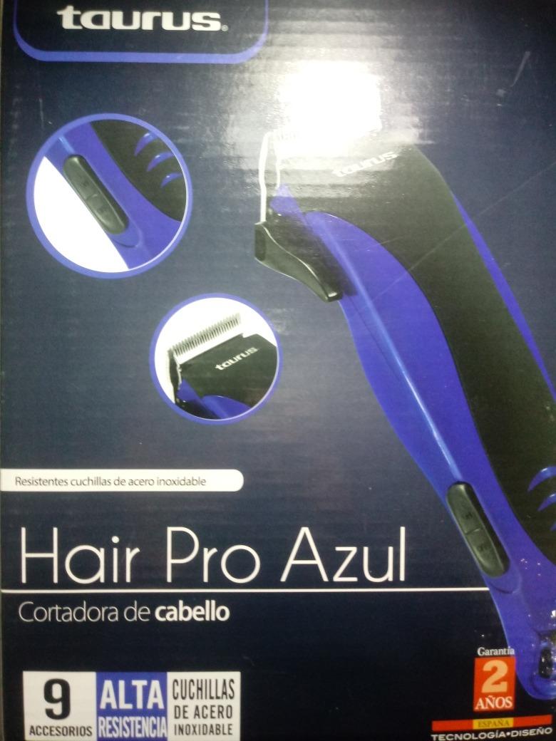 Taurus Hair Pro Azul Cortadora De Cabello -   140.00 en Mercado Libre b0a74629e269