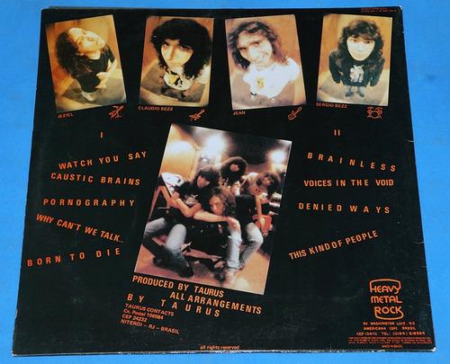 taurus - pornography - lp - 1990 - brasil