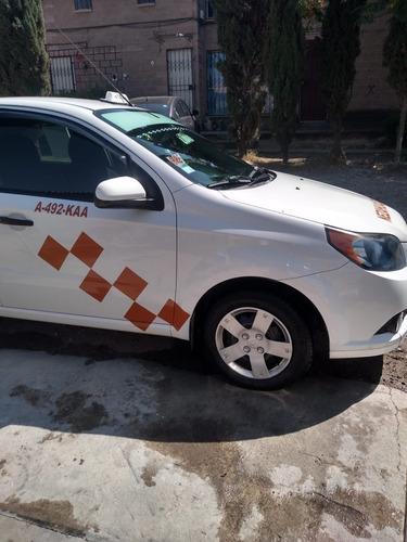 taxi aveo  modelo 2017