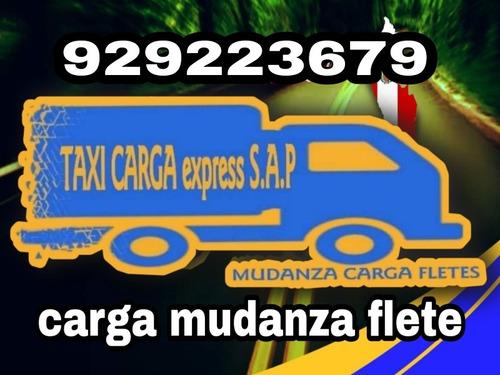 taxi carga - mudanza,flete-todo lima perú