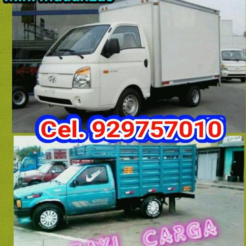 taxi carga mudanzas & eliminación de desmonte malezas escomb