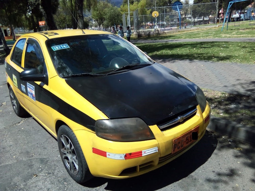 taxi chevrolet aveo activo 1.6 2010 puesto o con auto.