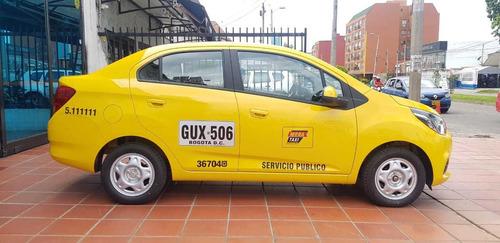 taxi chevrolet beat  modelo 2020 1.200 cc entrega inmediata