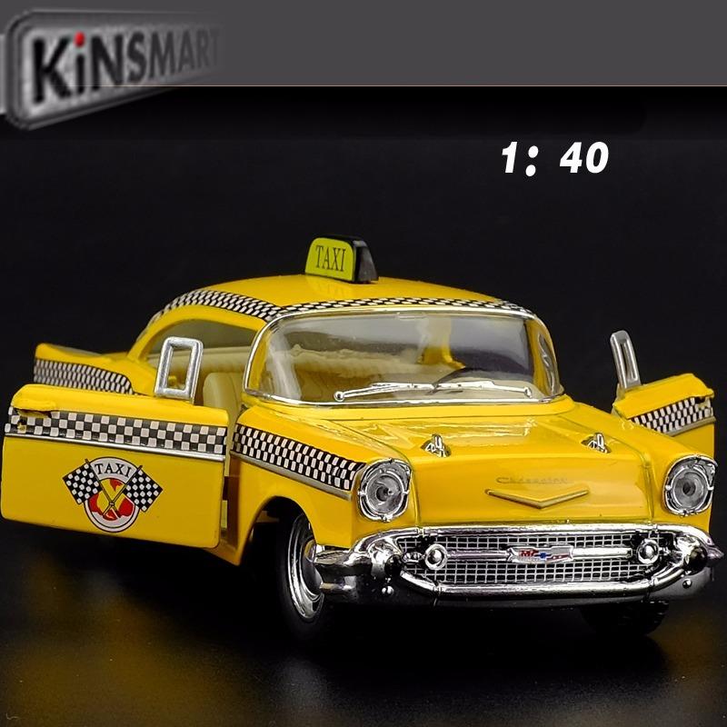 Taxi Chevrolet Bel Air Kinsmart Coleccin Auto La Plata 36900