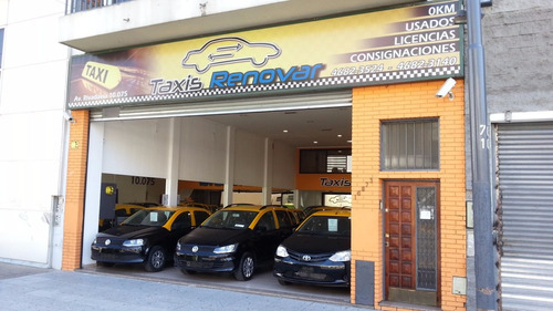 taxi chevrolet meriva 2008 gnc negra licencia de taxi