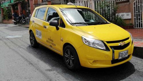taxi chevrolet sail 2018