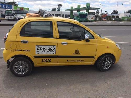 taxi chevrolet spark 2012