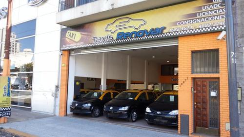 taxi chevrolet spin lt 2014 gnc licencia de taxi