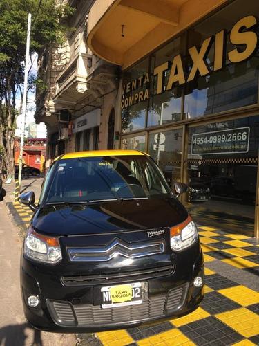 taxi citroen picaso c3 exclusive gnc 2014 inmaculado licenci