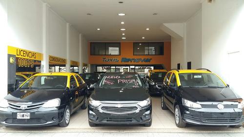 taxi corsa classic 2014 con gnc taxis con licencias