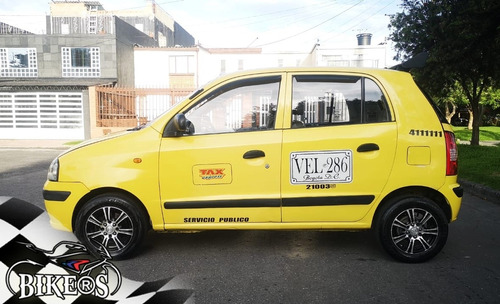 taxi hyundai atos prime gl 2007, recibo moto/carro, bikers!