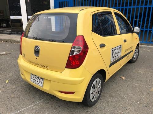 taxi hyundai i10 2013 medellin ctm, recibo usado o cupo