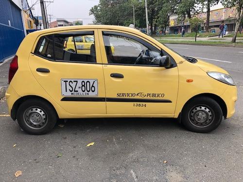 taxi hyundai i10 afiliado cootransmede, recibo su usado