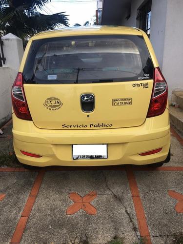taxi hyundai i10 metropolitano.
