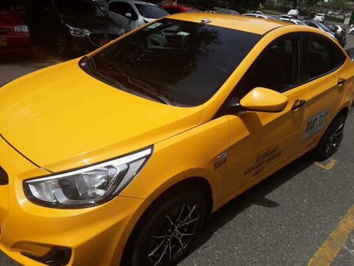 taxi hyundai i25 mod 2016 tax individual medellín