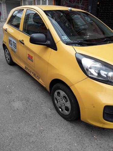 taxi  kia 2015 ganga - económico -  excelente estado