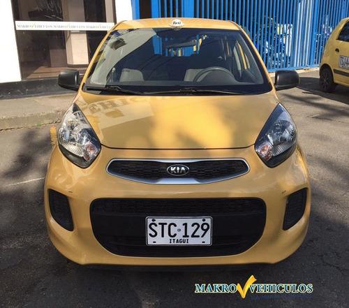 taxi kia ion 1.250 tax individual itagui, modelo 2016