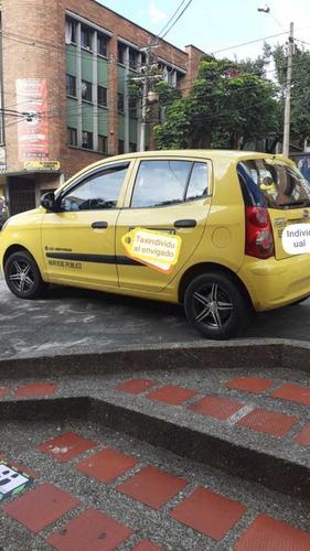 taxi - kia - picanto - 2009 - cupo taxindividual