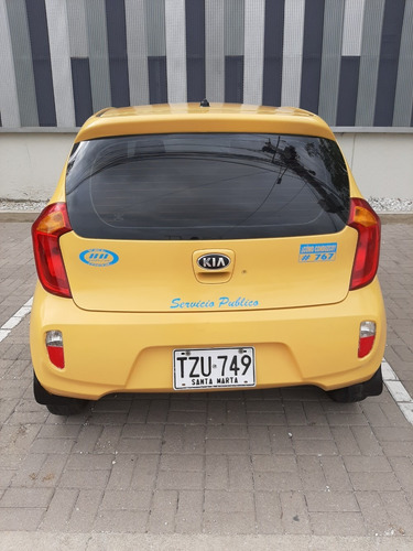 taxi kia picanto 2015 - santa marta