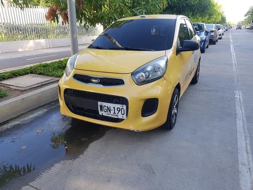 taxi kia picanto de cartagena