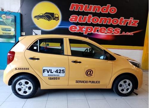taxi kia picanto ekotaxi 2020