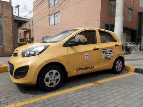 taxi kia picanto ion modelo 2014