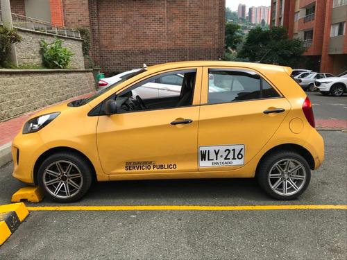 taxi kia picanto ion motor 1250 modelo 2017 excelente estado