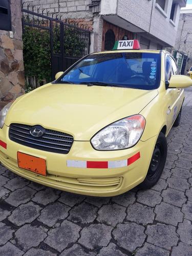 taxi legal - quito - hyundai accent 2008
