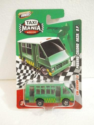 taxi mania camion pesero ciudad neza d.f verde