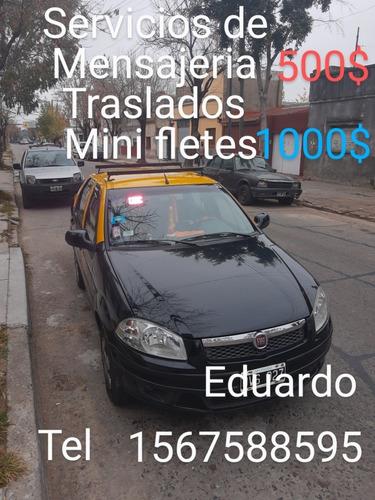 taxi ,mensajeria,traslados ,mini fletes.sr eduardo se ofrece