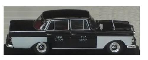 taxi mercedes 200d cairo 1964 escala 1/43