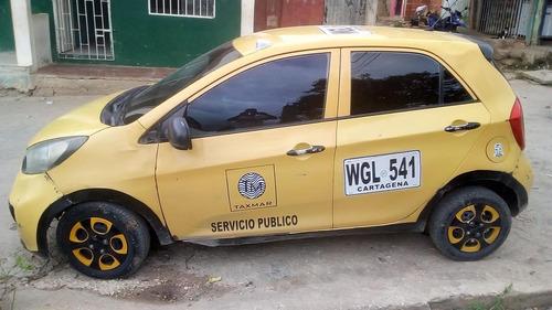 taxi, modelo 2014, cartagena.