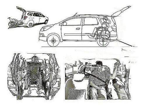 taxi para cadeirantes