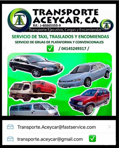 taxi para maracay, turmero, cagua. pago móvil /transferencia