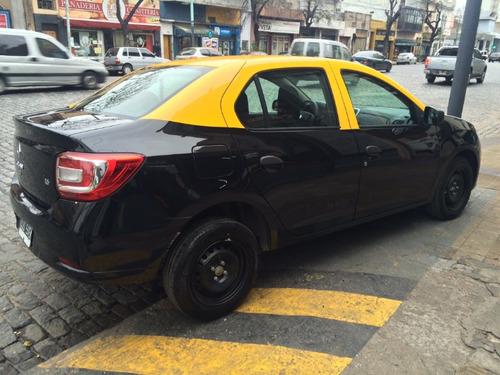 taxi renault logan 2015 con licencia