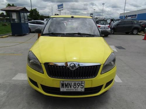 taxi skoda fabia, modelo 2015, 1.100 cc taxis libres