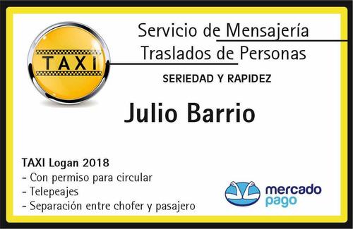 taxi-traslados caba/gba- envio encomiendas- comisionista