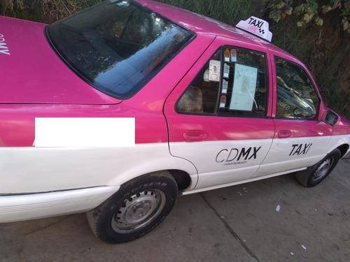 taxi tsuru 2012 con concesión