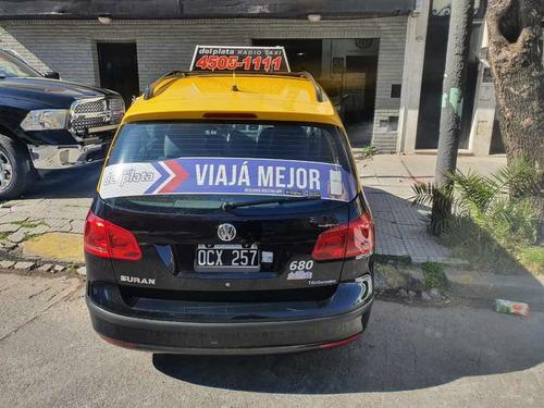 taxi volkswagen suran c/licencia gnc y reloj