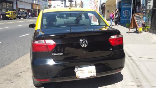 taxi volkswagen voyage confortline 1.6 nafta/gnc