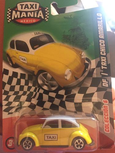 taximania d.f. taxi chico amarillo