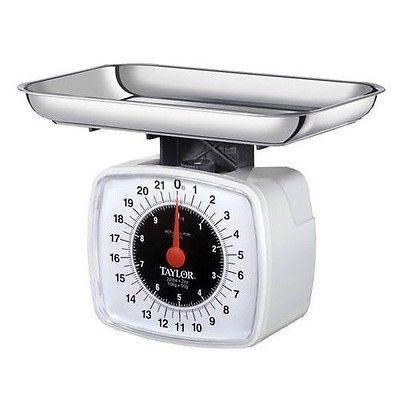 taylor 3880 22 libras plataforma báscula alimentos