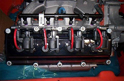 taylor cable 74224 juego de alambre de espuma rojo spiro-pr