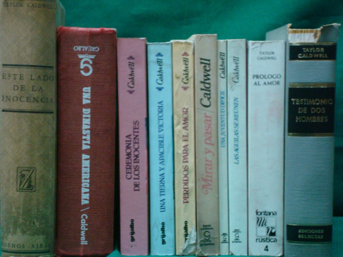 taylor caldwell (13 novelas)