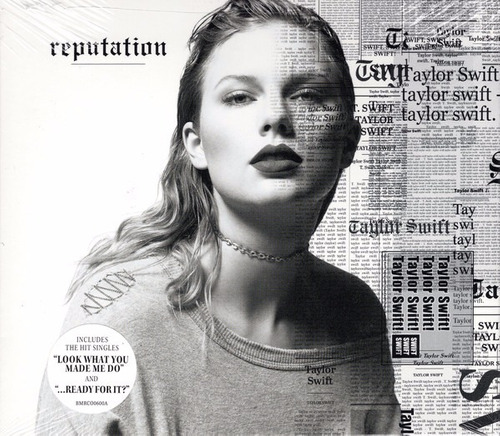 taylor swift cd reputation nuevo original sellado importado
