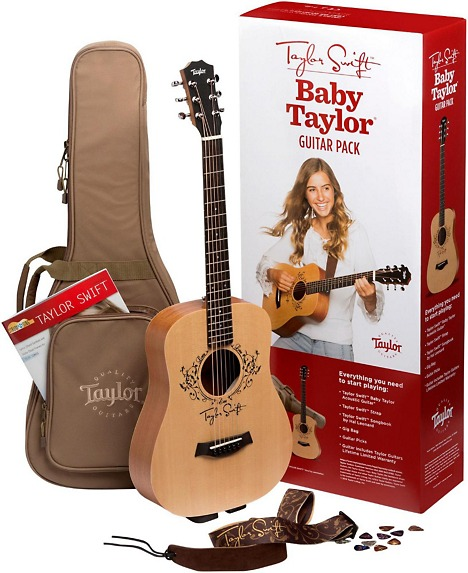 Taylor Taylor Swift Signature Baby Taylor Acoustic Guitar Pa ...