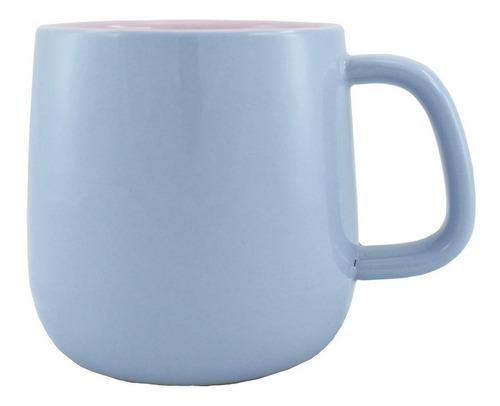 taza bicolor lila/rosa