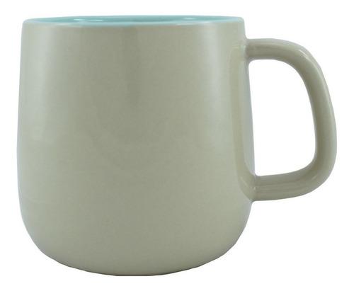 taza bicolor menta/beige