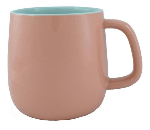 taza bicolor rosa/menta