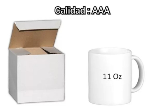 taza blanca para sublimar calidad aaa